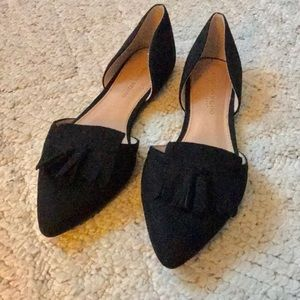 5f1c72b90c NWOT Christian Sirano black point toes shoes.